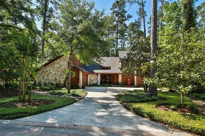 The Woodlands Single Family Home For Sale: 4 Coralvine Court