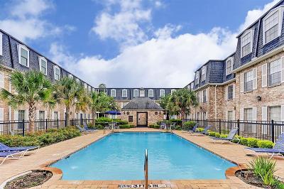 Houston Condo/Townhouse For Sale: 355 N Post Oak Lane #633