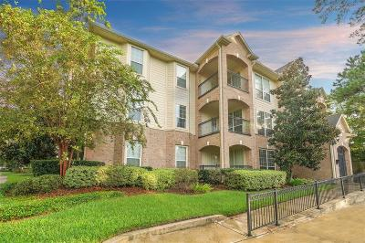 The Woodlands Condo/Townhouse For Sale: 6607 Lake Woodlands Drive #221