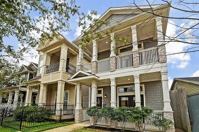 Houston Single Family Home For Sale: 814 W 21st Street