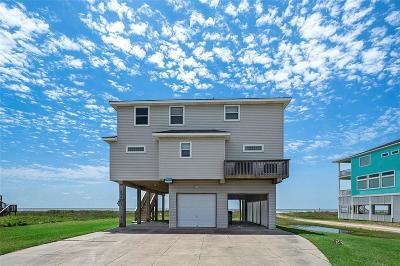 Galveston Single Family Home For Sale: 23401 San Luis Pass Road