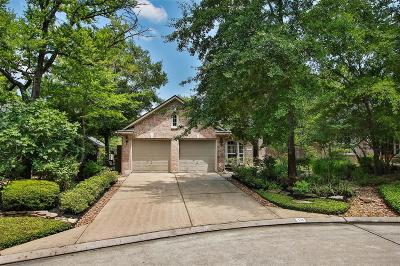 The Woodlands Single Family Home For Sale: 10 Prism Cove Place