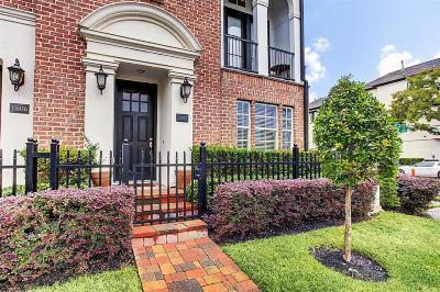 Houston Condo/Townhouse For Sale: 1802 Dart Street