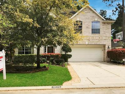 The Woodlands Single Family Home For Sale: 70 N Planchard Circle