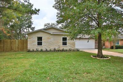 Houston Single Family Home For Sale: 1803 Greengrass Court