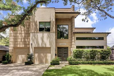 Houston TX Single Family Home For Sale: $1,300,000