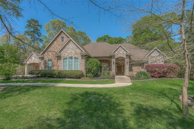 Conroe TX Single Family Home For Sale: $533,000