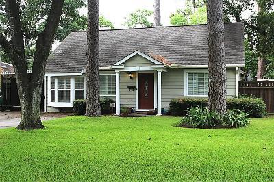 Garden Oaks Single Family Home For Sale: 1014 Lamonte Lane