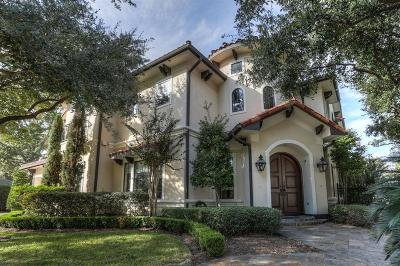 Houston Single Family Home For Sale: 1601 Glourie Drive