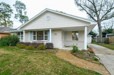 Timbergrove Manor Single Family Home For Sale: 6327 Waltway Drive