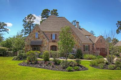 The Woodlands Single Family Home For Sale: 34 N Player Manor Circle