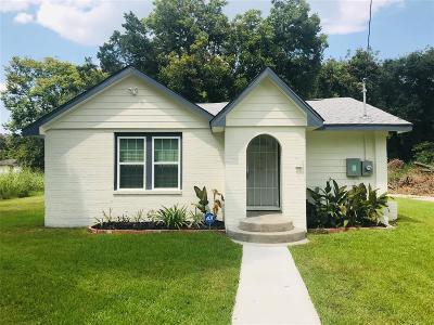 Houston Single Family Home For Sale: 5407 Bennington Street
