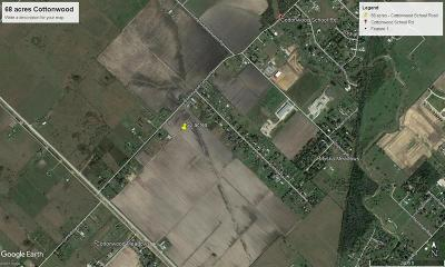 Residential Lots & Land For Sale: Cottonwood School Road