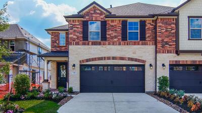 The Woodlands Condo/Townhouse For Sale: 11 Ancestry Stone Place