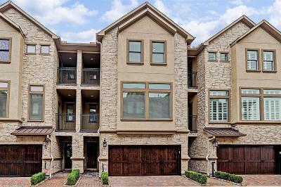 Houston Condo/Townhouse For Sale: 879 Rosastone Trail