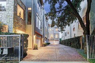 Houston Single Family Home For Sale: 1112 Autrey Street #D