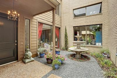 Houston Condo/Townhouse For Sale: 11558 Riverview Drive #7