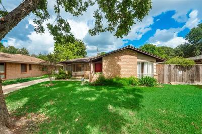Houston Single Family Home For Sale: 3102 Fairhope Street
