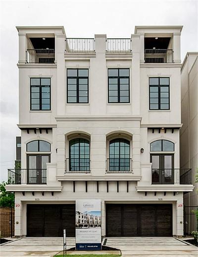 Montrose Condo/Townhouse For Sale: 503 W Clay