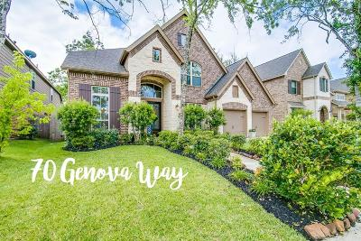 Missouri City Single Family Home For Sale: 70 Genova Way Lane