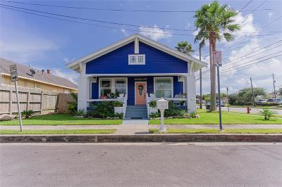 Galveston Single Family Home For Sale: 3827 Avenue Q 1/2