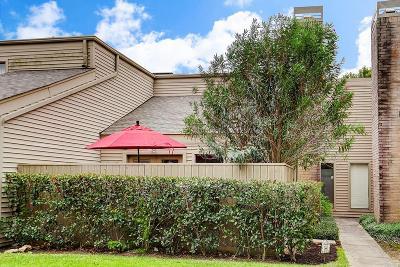 Houston Condo/Townhouse For Sale: 1440 Chardonnay Drive