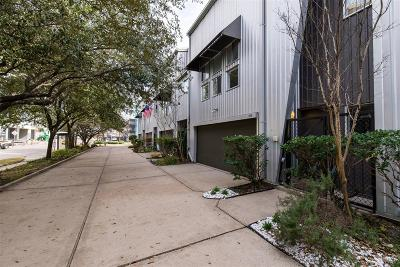 Houston Condo/Townhouse For Sale: 215 W Gray Street