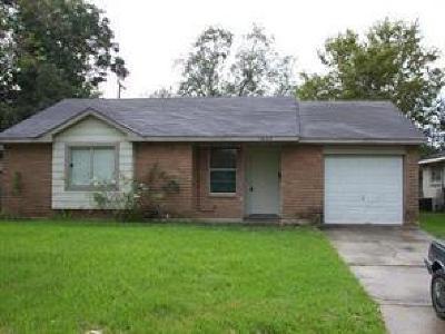 Houston Single Family Home For Sale: 3803 Dalmatian Drive