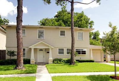 West University Place Single Family Home For Sale: 2711 Robinhood