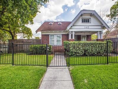 Houston Single Family Home For Sale: 140 Munford Street