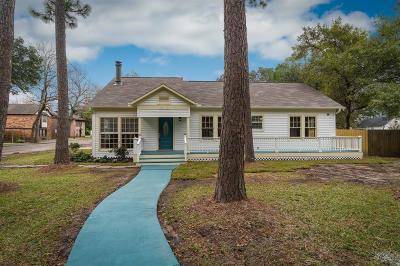 Alvin Single Family Home For Sale: 316 W Lang Street