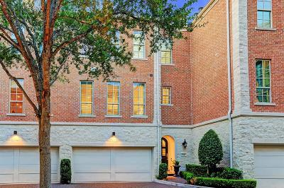 Houston TX Condo/Townhouse For Sale: $695,000