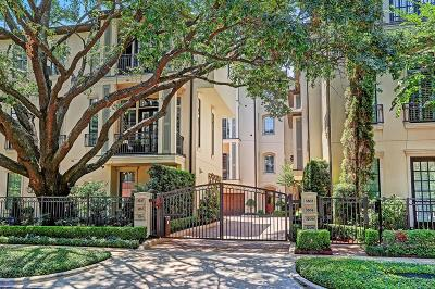 Houston Condo/Townhouse For Sale: 3206 Mid Lane