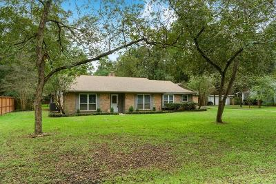 Houston Single Family Home For Sale: 2411 Creekleaf Road