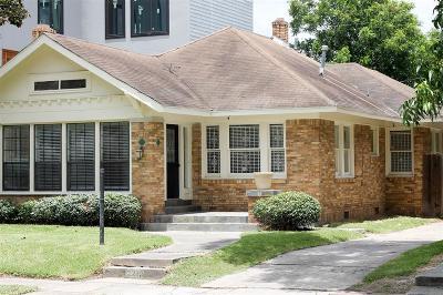 Harris County Rental For Rent: 2219 Arbor Street