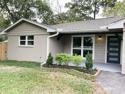 Pasadena Single Family Home For Sale: 4622 Allen Genoa Road