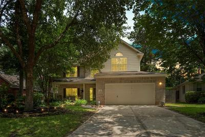 The Woodlands Single Family Home For Sale: 167 N Wynnoak Circle