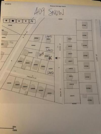 Residential Lots & Land For Sale: 409 Snow Drive