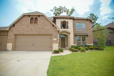 Tomball Single Family Home For Sale: 84 W Wading Pond Circle