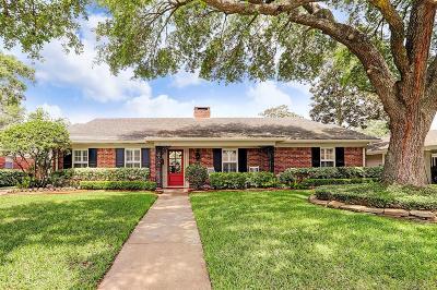 Houston Single Family Home For Sale: 7710 Meadowglen Lane