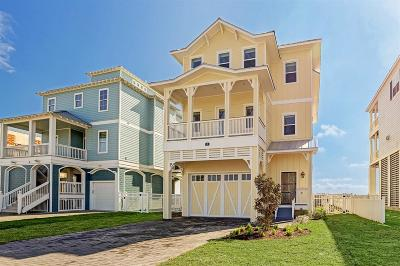 Galveston Single Family Home For Sale: 15 Grand Beach Boulevard