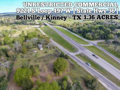 Bellville Residential Lots & Land For Sale: 9221 S Loop 497 W