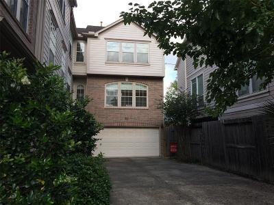 Houston Condo/Townhouse For Sale: 1504 Crocker Street