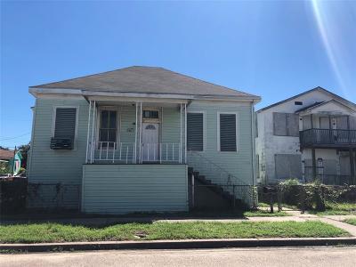 Galveston Single Family Home For Sale: 3201 Avenue M 1/2