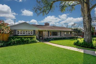 Houston Single Family Home For Sale: 5627 Del Monte Drive