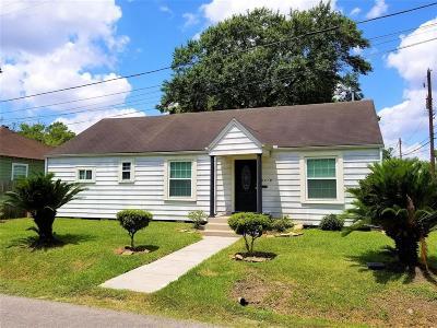 Houston Single Family Home Pending: 6419 Cochran Street
