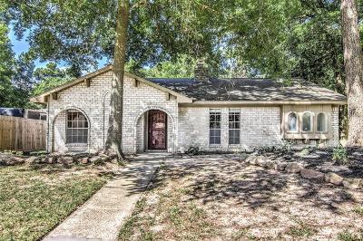 Kingwood TX Single Family Home For Sale: $206,000