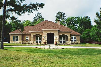 Willis Single Family Home For Sale: 1606 Opal Trail