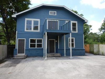 Single Family Home For Sale: 4718 Gunter Street