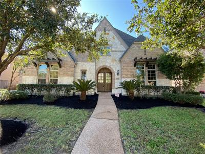 Katy Single Family Home For Sale: 27411 Hurston Glen Lane